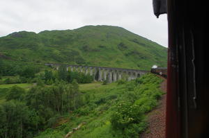 The Jacobite (Hogwart's Express), Mallaig