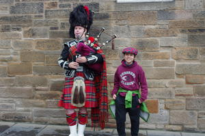 Piper and Robert, Edinburgh